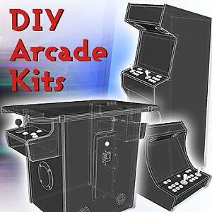 DIY Arcade Kits - Save $$ and build it yourself!