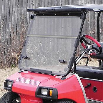 Club Car DS (82-00.5) Clear Folding Golf Cart Windshield - US Made
