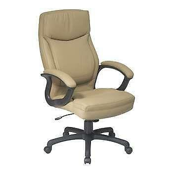 Tan Leather Office Chair Ebay