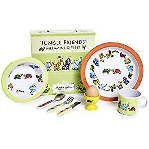 "Children's Melamine ""Jungle Friends"" Gift Set (HALF PRICE!)"