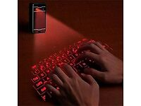 Bluetooth laser keyboard projector (can be linked to smart phone, tablet)