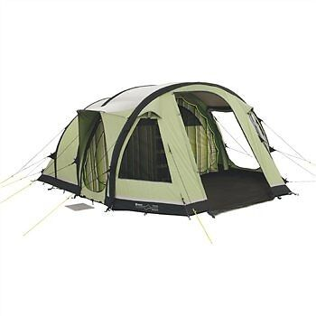 Outwell Concorde M polycotton air inflatable tent with carpet and footprint