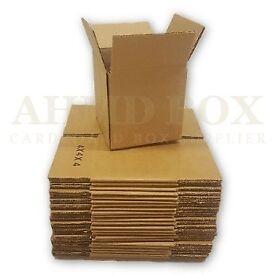4 x 4 x 4″ Single Wall Cardboard Box