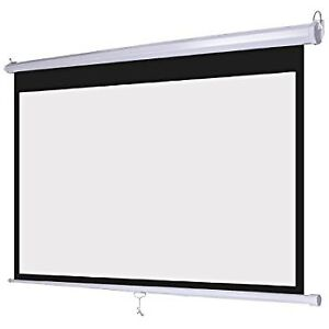 Digital Projector Screen Self Lock For Home Theater Brand New