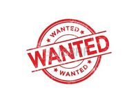 Furniture & Appliances Wanted