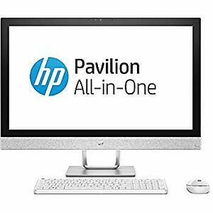 """Store Sale-HP Pavilion 27""""AIO FHD Touch-i7-7700T-12GB Ram-1TBHDD"""