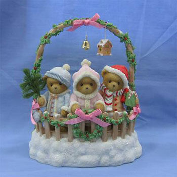 Cherished Teddies Cashley, Courtney & Caitlin 4008154 NIB