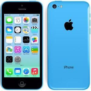 IPHONE 5C 8GB BLUE - LOCKED TO ROGERS - BUY FROM A STORE WITH CONFIDENCE