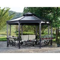 Retail $2,700+ BNIB Sunjoy 13 ft Royal Octagon Hardtop Gazebo