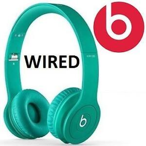 NEW BEATS SOLO HD HEADPHONES ON EAR DRENCHED IN TEAL, MATTE FINISH SOLO HD - WIRED 105897445