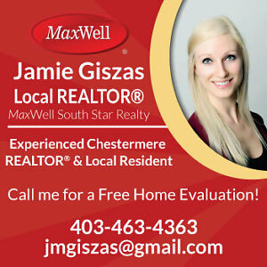 Recommended REALTOR®! Chestermere & Surrounding Areas!