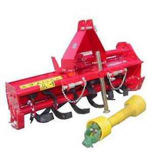 TILLER ROTARY HOE Cultivator 1250mm 3 Point Linkage SUIT to 30HP Ringwood Maroondah Area Preview