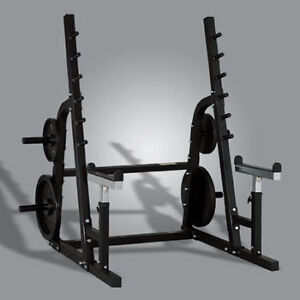 powertec squat rack and bench Kitchener / Waterloo Kitchener Area image 1