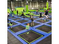 IntoTheBlue Experience Gifts & Memories-for example, Jump In Trampolining Arena - Aberdeen opens Jan