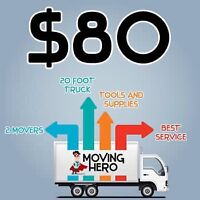 Moving hero commercial houses condos apt movers