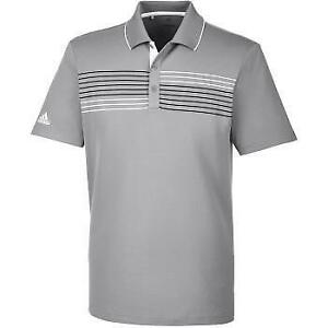 Adidas Men's Chest Stripe Polo