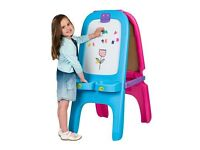Crayola Pink / Blue Magnetic Double Easel