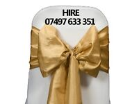 Chair Covers & Sashes Hire ** Chair Covers & Sashes Hire** Chair Covers & Sashes Hire