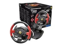 Thrustmaster T150 Ferrari Wheel Force Feedback And Dirt Rally!