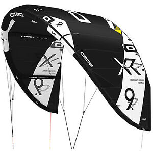 Kiteboarding Core XR5 Quiver  9, 11 and 15m LW with bar