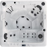 2 Pump Hot Tub with Stereo , Ozone , LED Lights , Cover