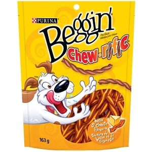 Beggin' Strips Chew-rific Bacon & Cheese Flavours Dog Snacks