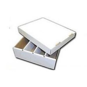 3200ct CardBoard Trading Cards Storage Box Kitchener / Waterloo Kitchener Area image 1