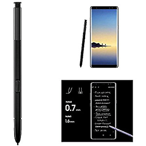 Galaxy note 8 stylus with tips and tool.