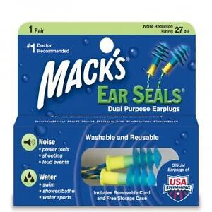 Mack-039-s-Ear-Seals-Earplugs-With-Carrying-Case-1-pair