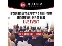 FREE Live Event, FREE System, FREE Book…