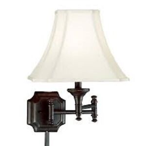 Kenroy Home 33054BBZ Wentworth Wall Swing Arm Lamp, Burnished Br