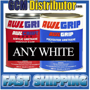AWLGRIP / AWLCRAFT. Boat Paint  CHOOSE ANY WHITE COLOR GALLON SIZE - BRAND NEW