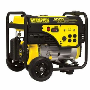Champion Generator 120V - 4000/ 3250W- used 200 hours