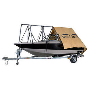 Navigloo Winter Shelter System for Fishing Boat and Runabout