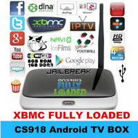 ANDROID TV XBMC/KODI<QUAD CORE<FULLY LOADED<ON SALE!