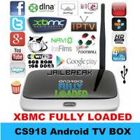 ANDROID TV XBMC/KODI<QUAD CORE<FULLY LOADED<ON SALE!