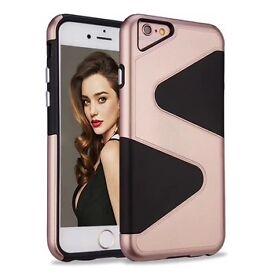 Apple iPhone 7 Case, Hybrid Armor Heavy Hockproof, 100 x New Wholesale Joblot