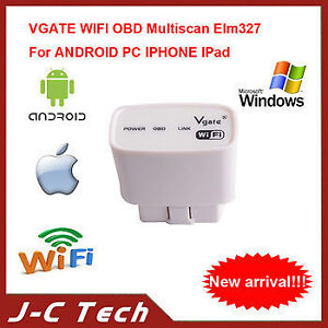 OBD  2 Reader WIFI Works with Apple, Android, Blackberry