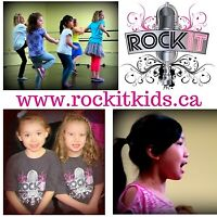 Develop confidence learn new skills & have fun with Rockit Kids!