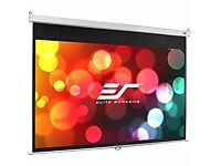 Elite projector screen 100 inch 16:9 manual