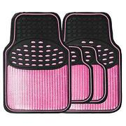 Pink Rubber Car Mats