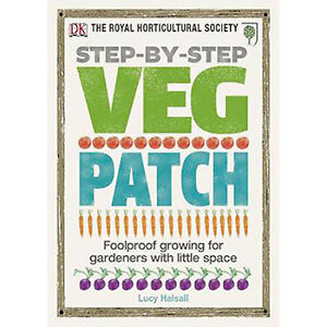 RHS Step-by-step Veg Patch, Gardening Book, Brand New