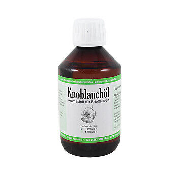 Hesanol Knoblauchol 250ml, (pure garlic oil). For Pigeons & Birds