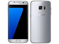 Brand New Sealed Samsung Galaxy S7 Edge - Unlocked Silver Titanium