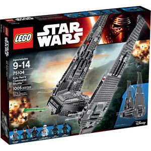 Lego® Star Wars set 75014 – Kylo Ren's Command Shuttle open NEW
