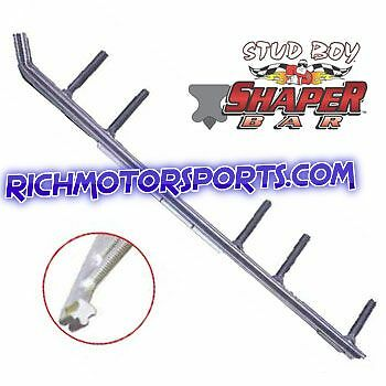"One Pair of New 6"" StudBoy Shaper Bar for all Skidoo Pilot Skis DOO-S2410-60"