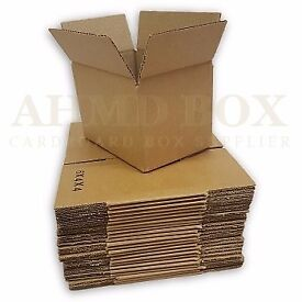 6 x 4 x 4″ Single Wall Cardboard Box