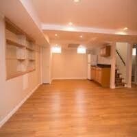 HOME/BASEMENT FINISHING, PAINTING, RENOVATIONS BY PROFESSIONALS