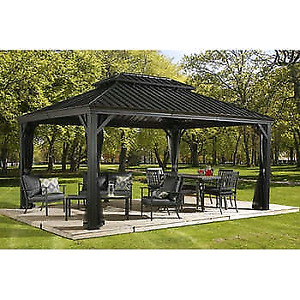 Sojag Gazebos, Sunbeam Firepits, Wicker Patio Furniture