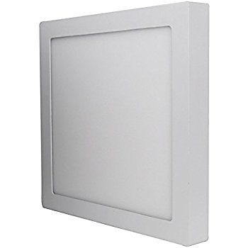 LED Surface Mounted Ceiling Panel DownLight Cool White 24W - Square